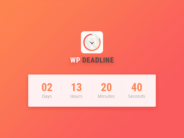 WP Deadline 2