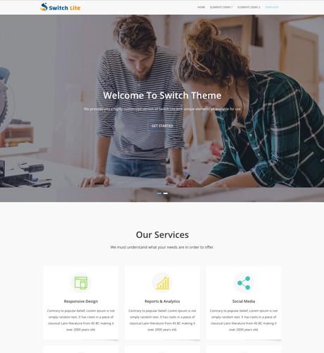 Free One Page Responsive Wordpress Theme 3