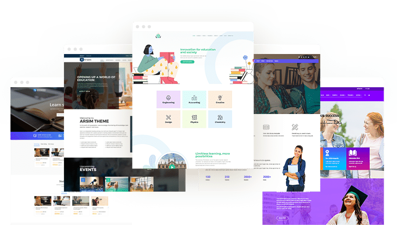 Education WordPress Theme old 1