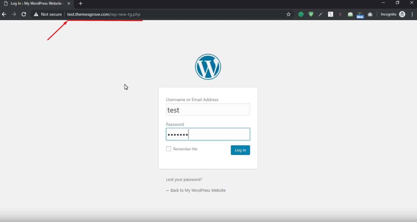 How To Change WordPress Login URL Without Plugin (A Complete Guide) 4