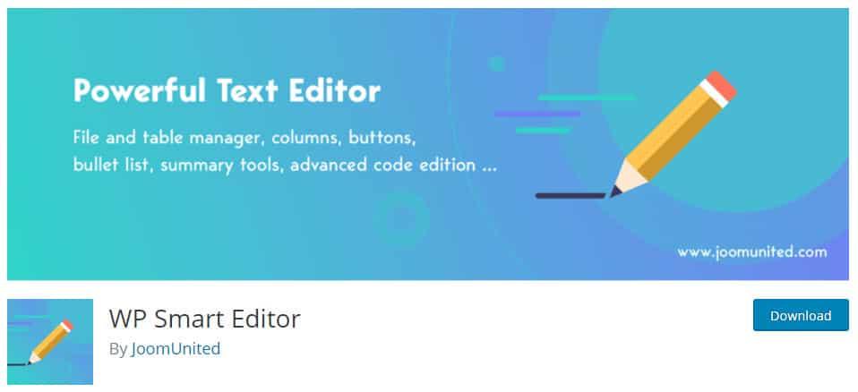 9 WordPress Editor Plugins - To Easily Edit Your WordPress Data 3