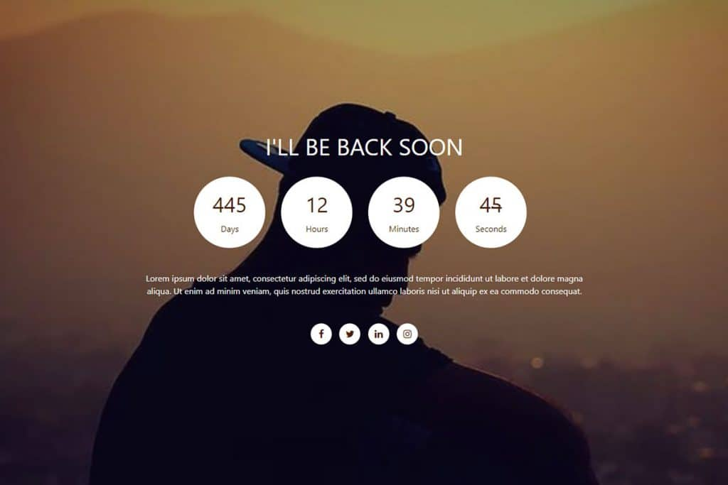 20+ Coming Soon Landing Page Templates In 2019 13