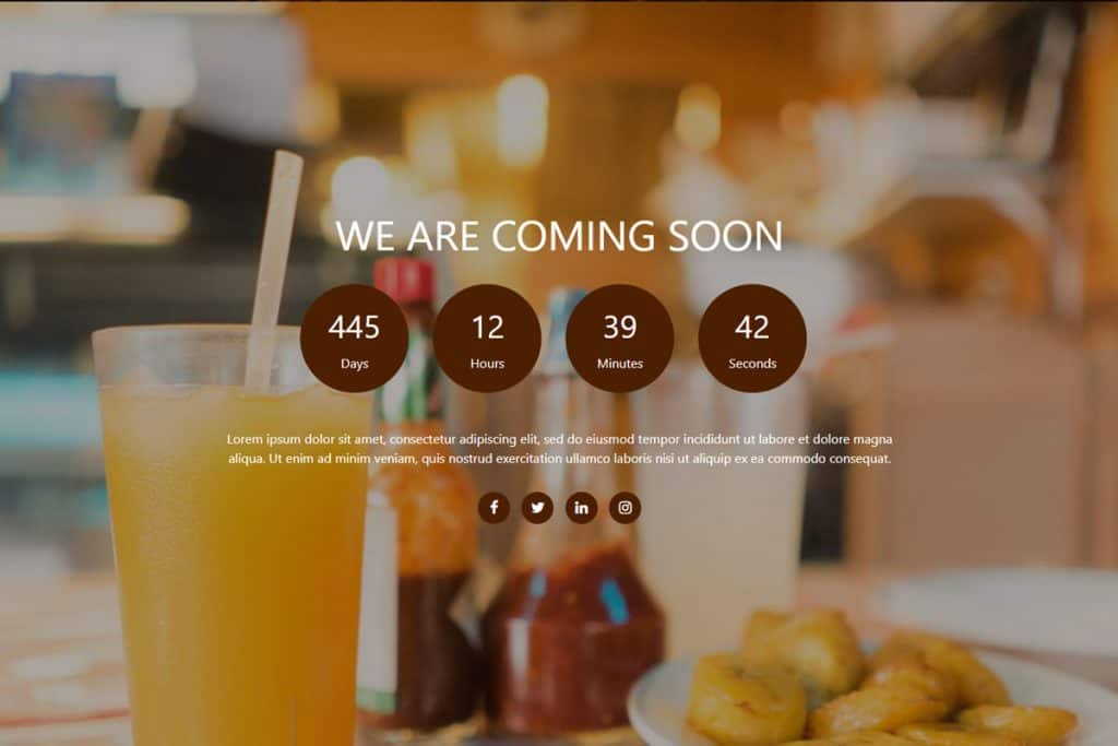 20+ Coming Soon Landing Page Templates In 2019 9