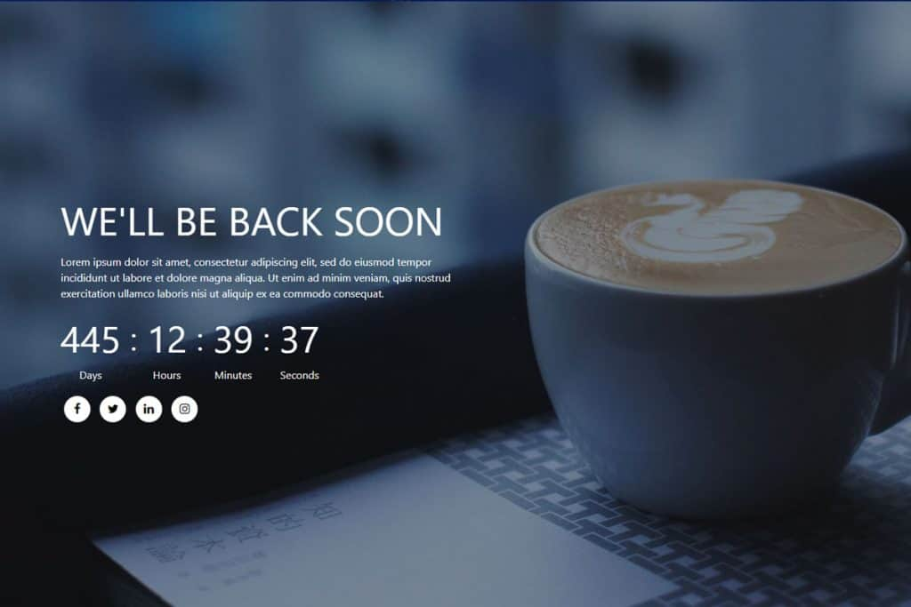 20+ Coming Soon Landing Page Templates In 2019 10
