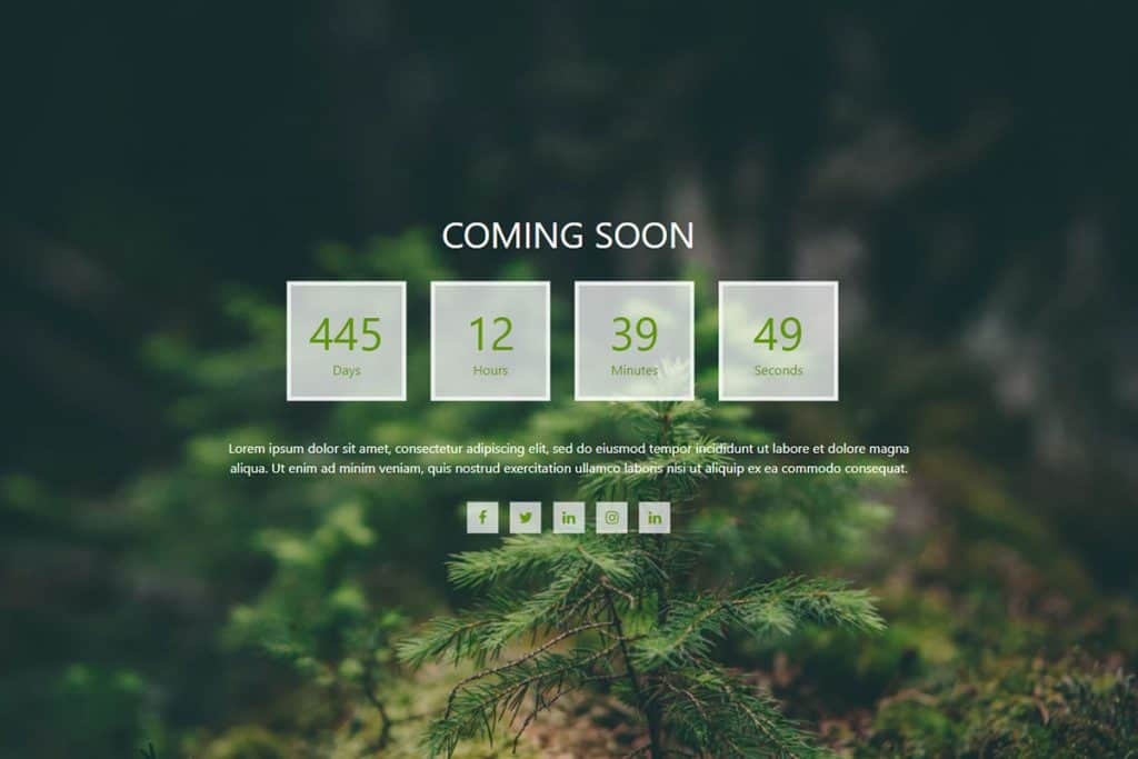 20+ Coming Soon Landing Page Templates In 2019 18