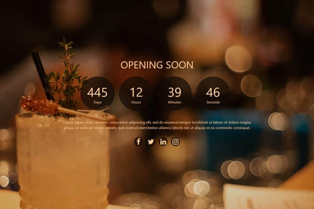 20+ Coming Soon Landing Page Templates In 2019 8