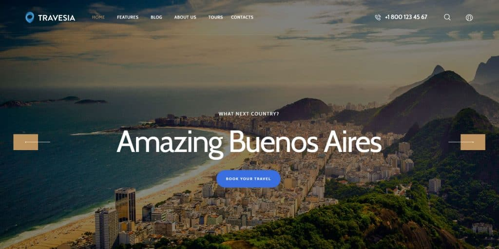 5 Best Tours and Travels WordPress Themes - Expert's Choice 2