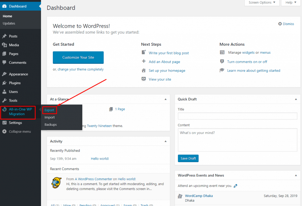 How To Migrate WordPress Site From One Hosting To Another (With and Without Plugin) 2