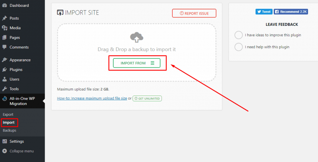 How To Migrate WordPress Site From One Hosting To Another (With and Without Plugin) 5