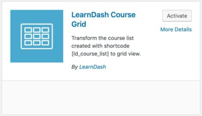 How to Create Learndash Course Grid by a Few Clicks 2