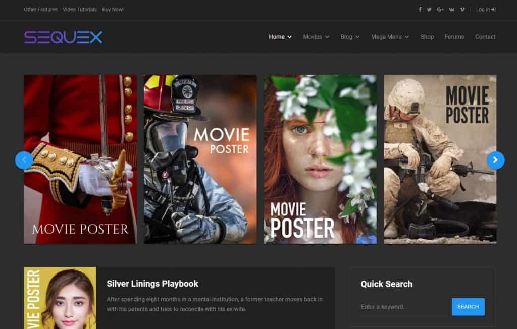 5 Best WordPress Movie Themes to Create Perfect Movie Website 2