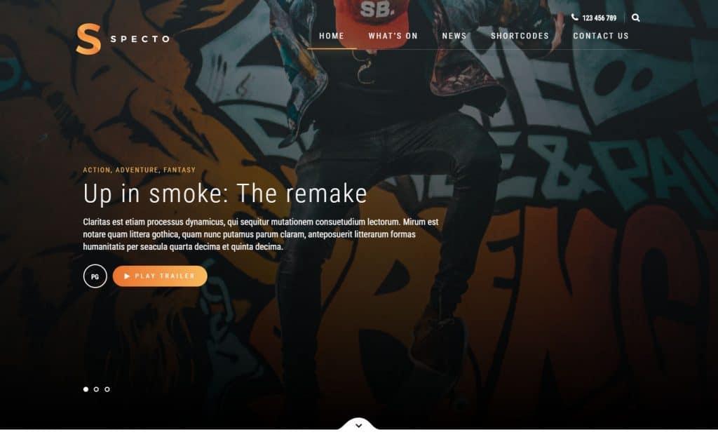 5 Best WordPress Movie Themes to Create Perfect Movie Website 3