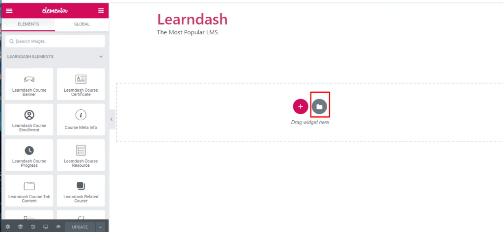 Change The Look of Your LMS with LearnDash Templates in WidgetKit 2.3.3 8