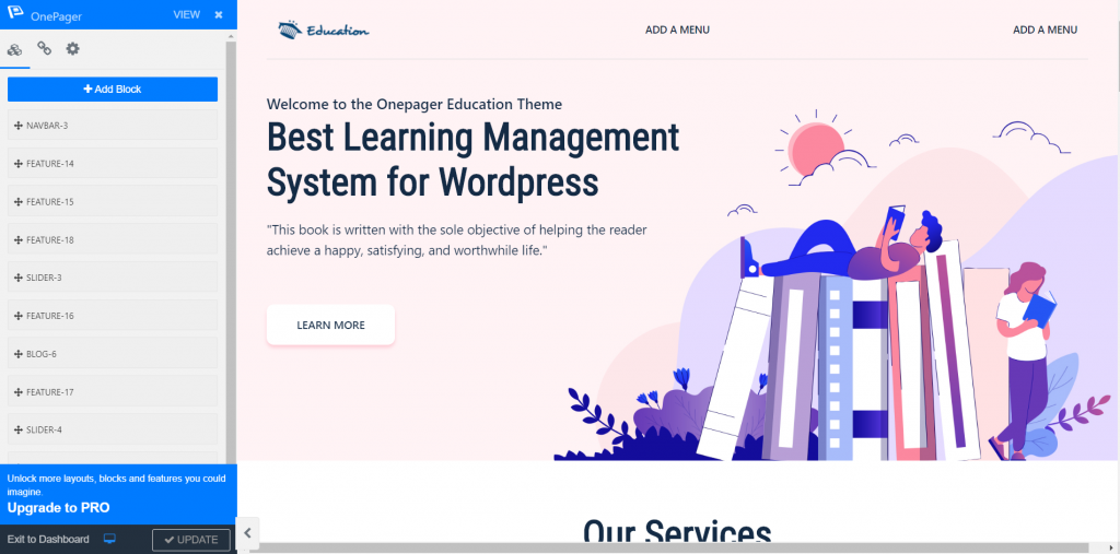 How to Create a Multilingual WordPress Website with WPOnepager 5