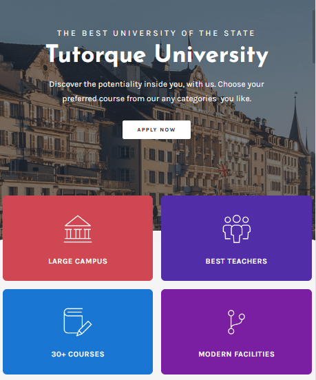 Education WordPress Theme 4