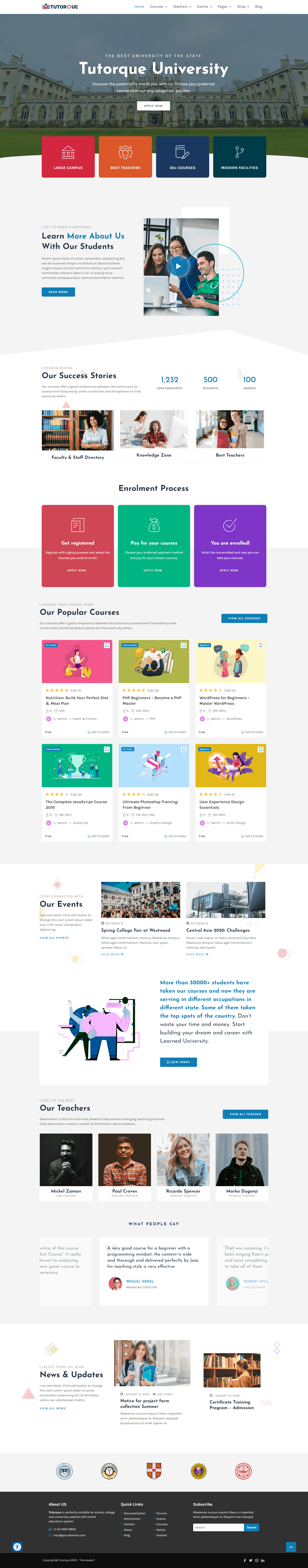 Introducing Tutorque The All-In-One LMS WordPress Theme for Creators 3
