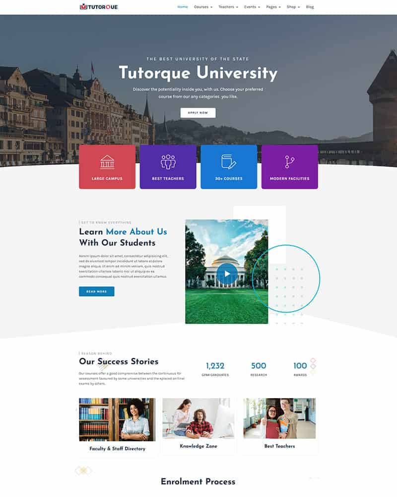 Education WordPress Theme 10