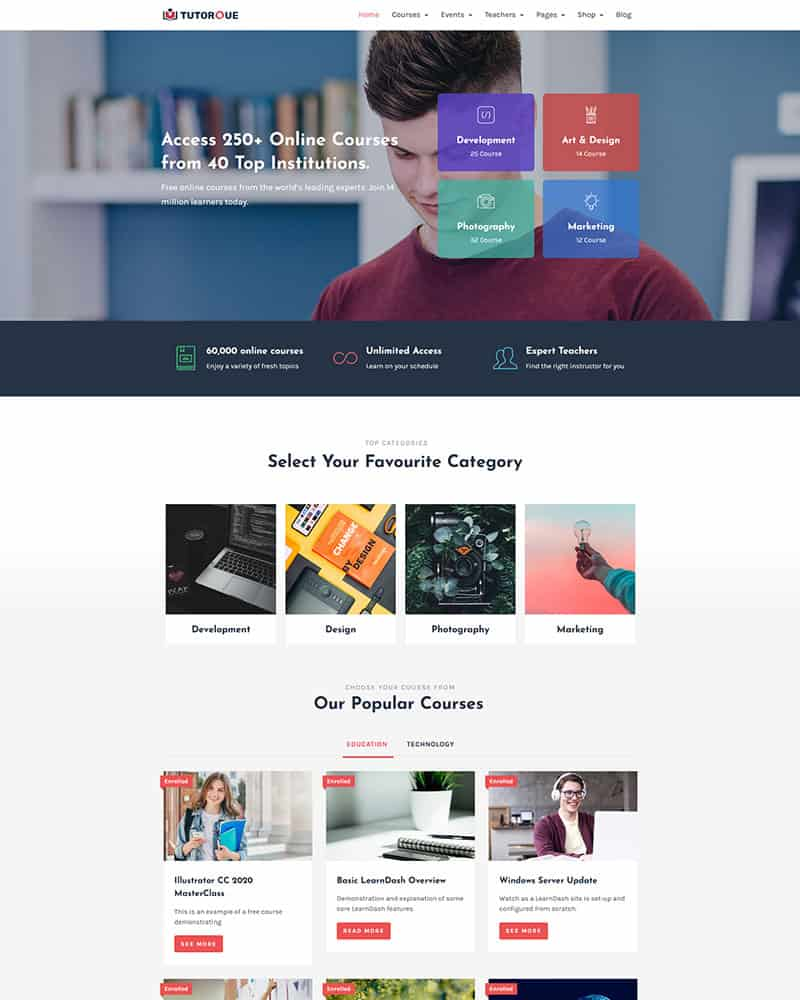 Education WordPress Theme 11
