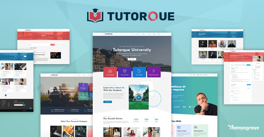 Introducing Tutorque The All-In-One LMS WordPress Theme for Creators 2
