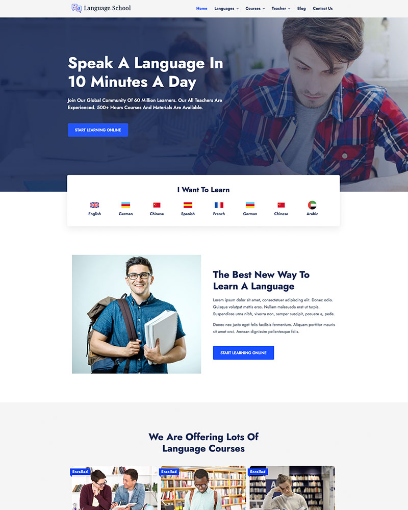 Education WordPress Theme 15