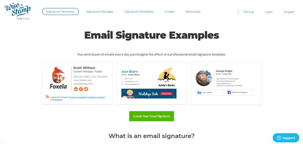7 Best Free Email Signature Generator of 2020 6