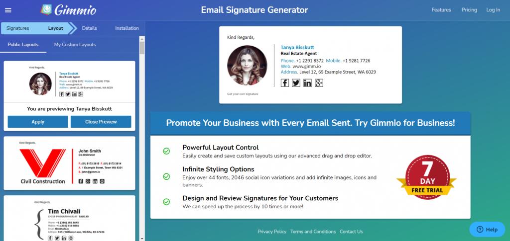 7 Best Free Email Signature Generator of 2020 4
