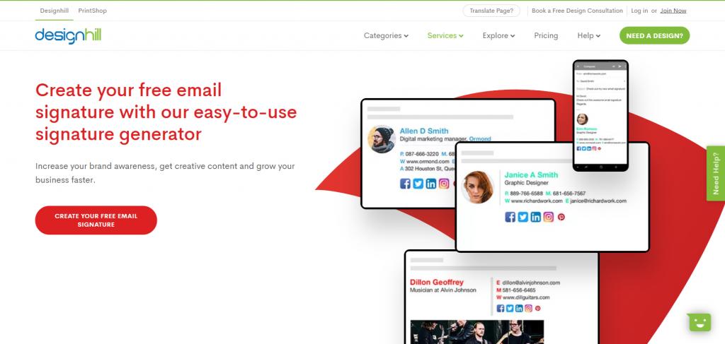 7 Best Free Email Signature Generator of 2020 3