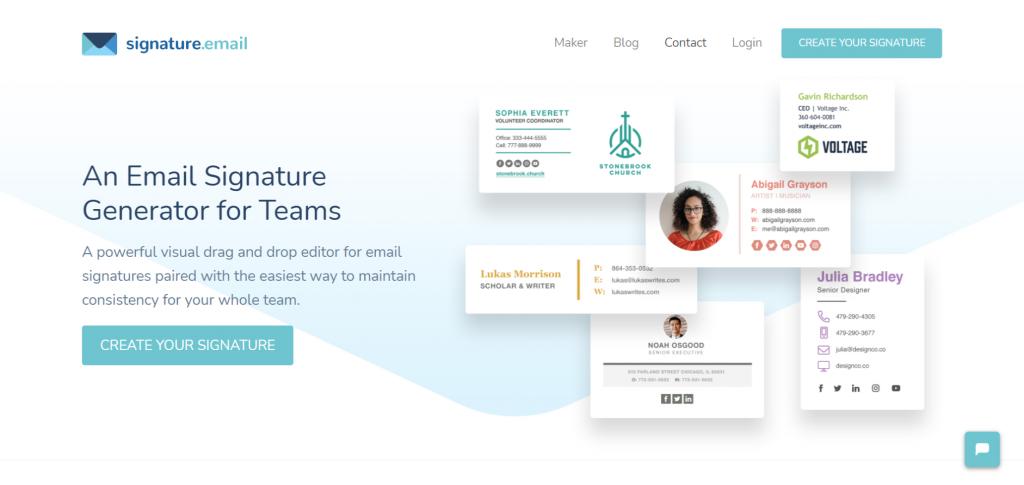 7 Best Free Email Signature Generator of 2020 8