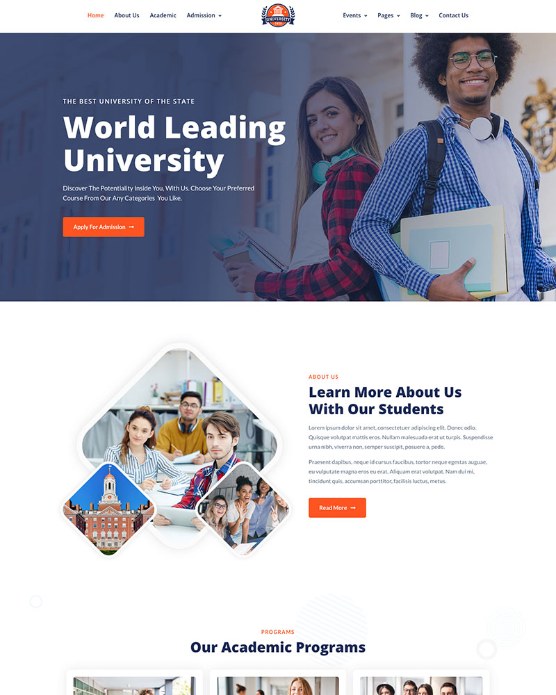 Education WordPress Theme 16