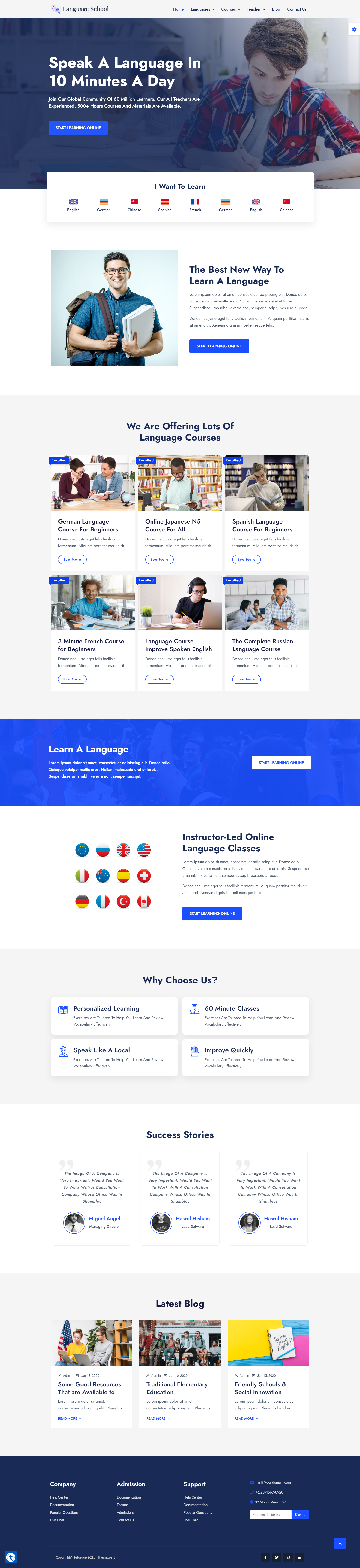 Tutorque Education WordPress Theme Updates: New Integrations, New Demo Sites and Many More 6