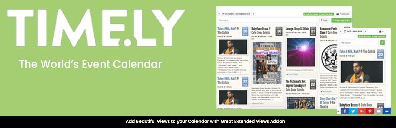 7 Best WordPress Event Calendar Plugins 3