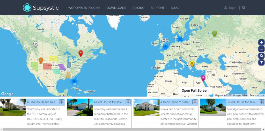 7 Best WordPress Map Plugins of 2021 7