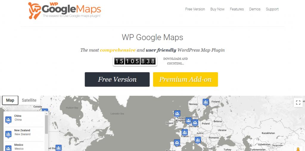 7 Best WordPress Map Plugins of 2021 2